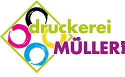Logo Druckerei Müller
